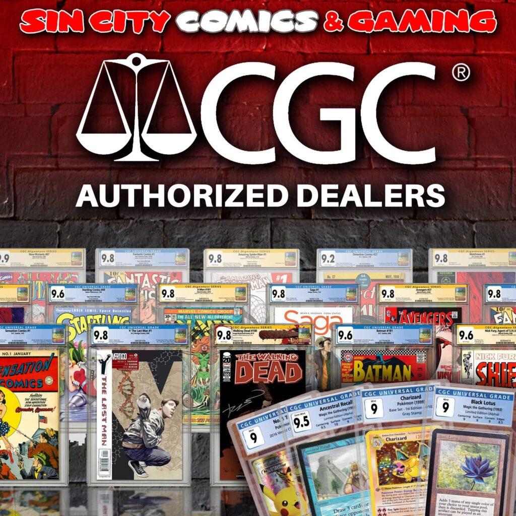 CGC Blue Label