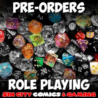 ROLE PLAYING GAMES PRE-ORDER