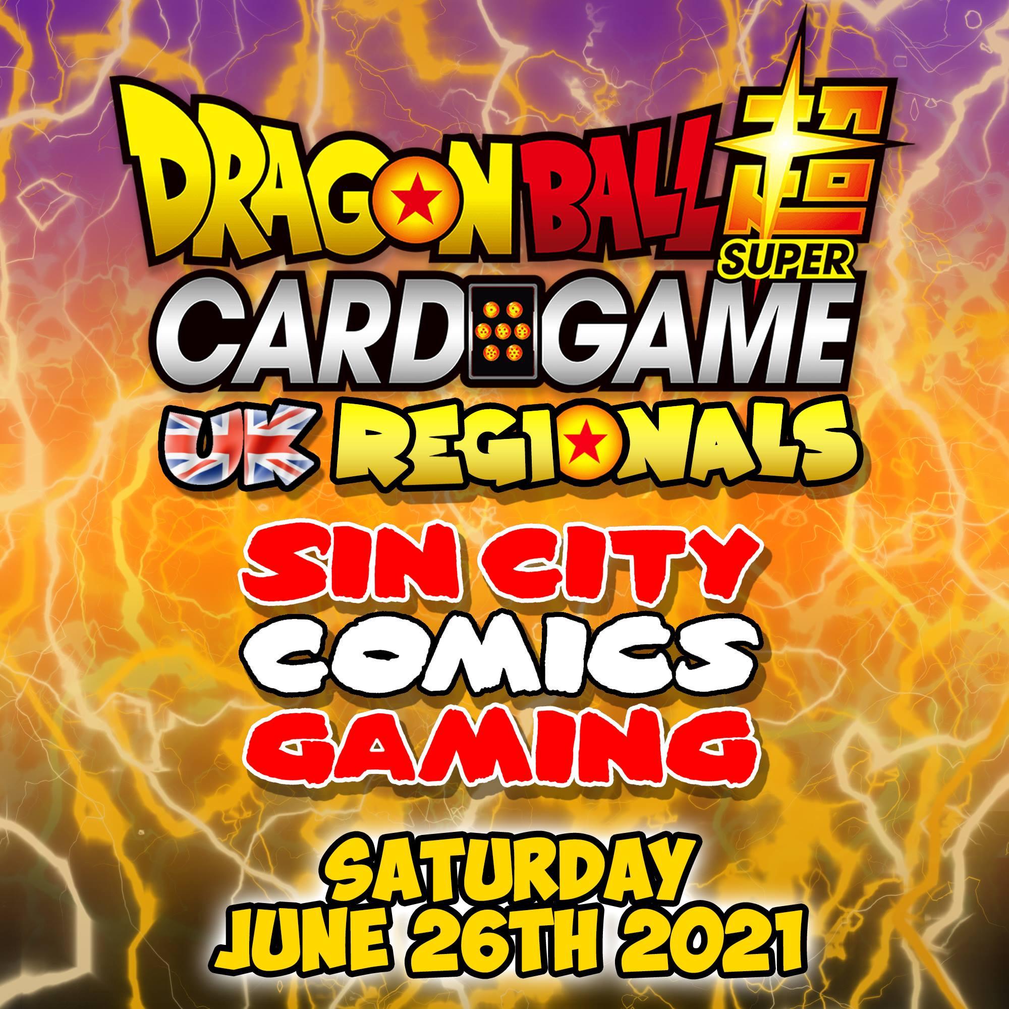 Dragonball Card Game 2021 Regionals